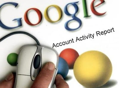 Google Account Activity